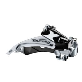 SHIMANO FD-TY500 TOURNEY FRONT TRIPLE DERAILLEUR BOTH TOP AND BOTTOM PULL 34.9